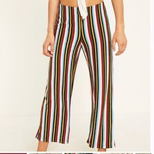 Urban Outfitters Terry Ant Cropped Striped Pants Small